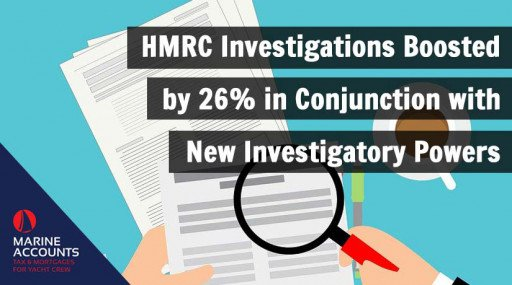 HMRC Investigations Boosted by 26% in Conjunction with New Investigatory Powers