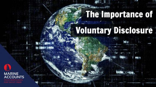 The Importance of Voluntary Disclosure