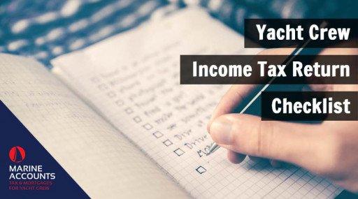 Yacht Crew Income Tax Return Checklist