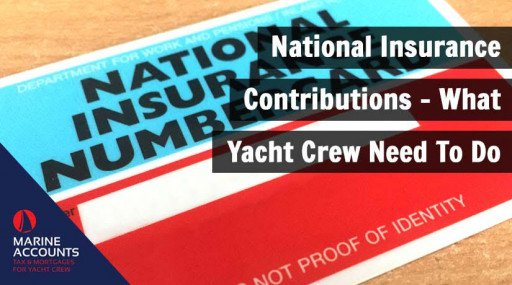 National Insurance Contributions - What Yacht Crew Need To Do