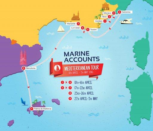 Marine Accounts on the road